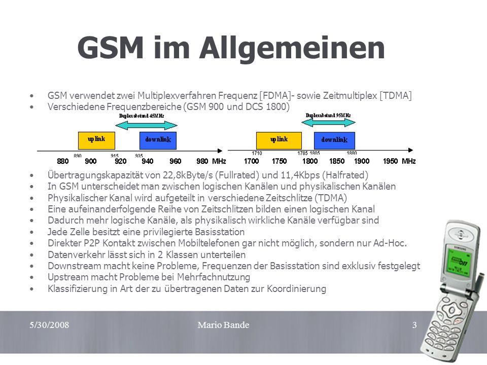 Handzettel GSM im Allgemeinen. GSM verwendet zwei Multiplexverfahren Frequenz [FDMA]- sowie Zeitmultiplex [TDMA]